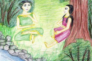 Kapitola 17 románu Milovaná Sluncem: Zahrada