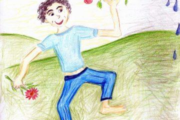 Kapitola 3 románu Milovaná Sluncem: Zahrada